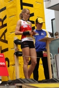Volle Konzentration von Ines am Start.<small>Foto: Swiss Orienteering</small>